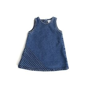 GAP DENIM DRESS, GIRL'S SIZE 6-12M
